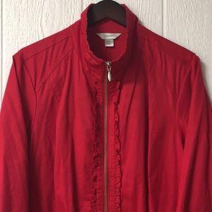 Cotton Zip-Up Jacket